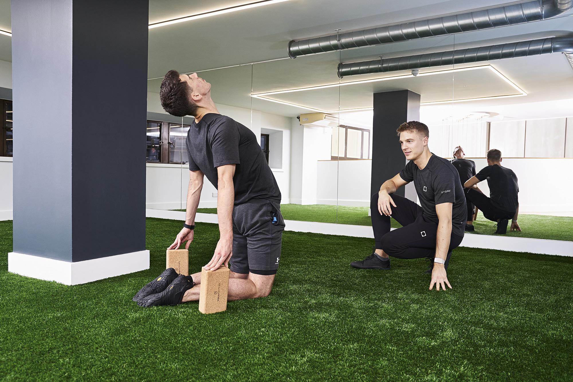 Flexibility training in our studio